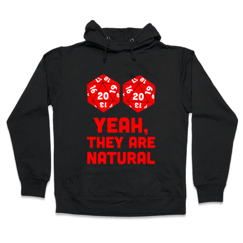 Yeah, They are Natural Hooded Sweatshirt