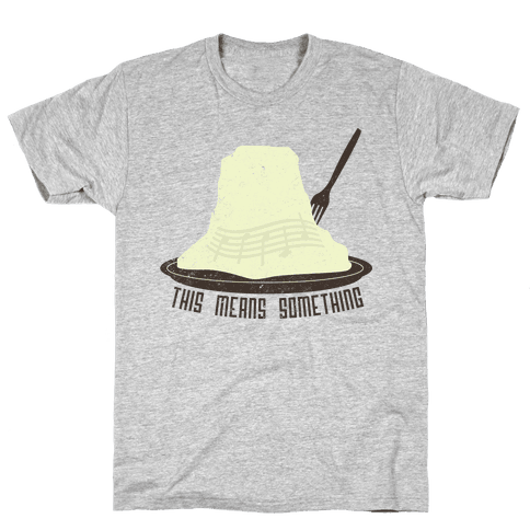 Close Encounters of the Potato Kind Mens T-Shirt