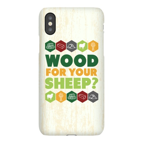 Wood For Your Sheep? Phone Case
