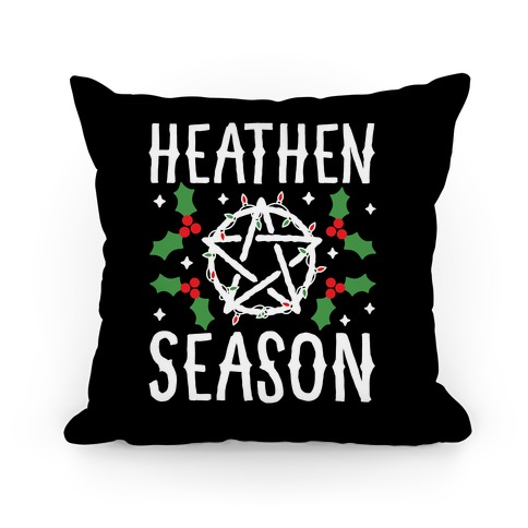 Heathen Season Christmas Pillow
