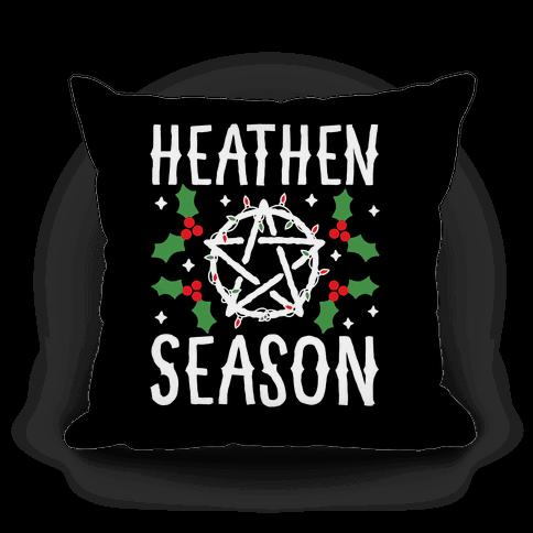 Heathen Season Christmas Pillow