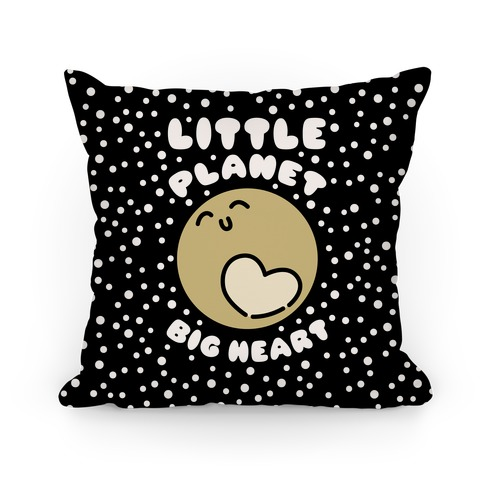 Little Planet Big Heart Pillow