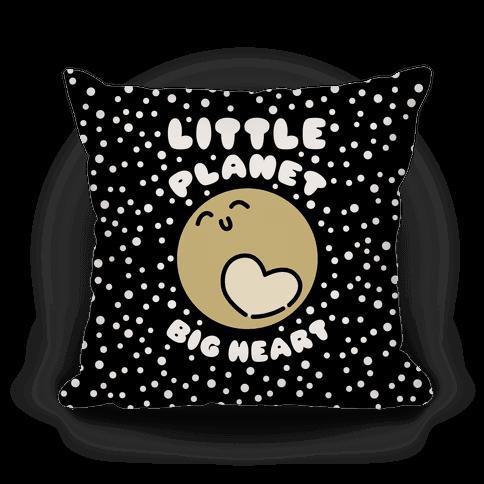 Little Planet Big Heart Pillow