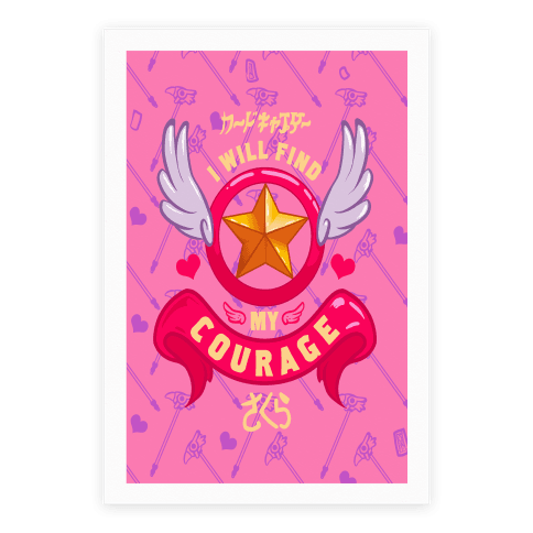 Cardcaptor Sakura: I Will Find My Courage Poster