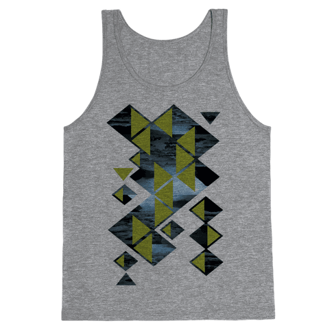 Glacier Collage Tank Top