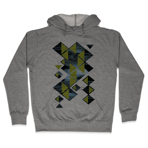Glacier Collage Hooded Sweatshirt