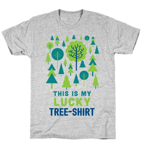 This Is My Lucky Tree-Shirt Mens T-Shirt