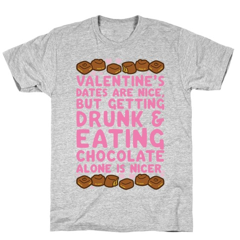 Valentines Dates And Chocolate T-Shirt