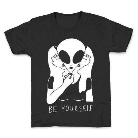 Be Yourself Alien Kids T-Shirt