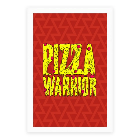 Pizza Warrior Poster