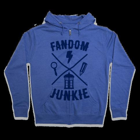 Fandom Junkie Zip Hoodie