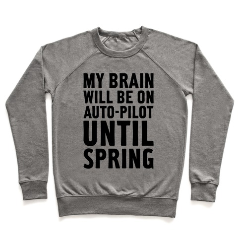 My Brain Will Be On Auto-Pilot Pullover