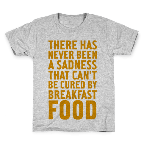 Breakfast Food Kids T-Shirt