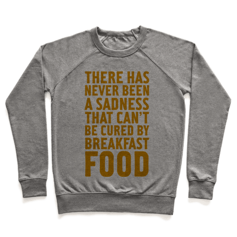 Breakfast Food Pullover
