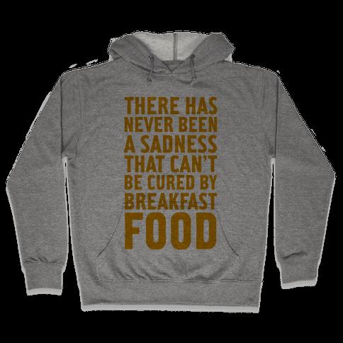 Breakfast Food Hooded Sweatshirt