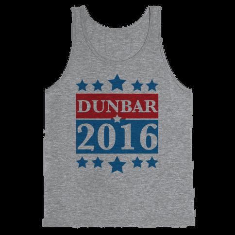 Dunbar For President 2016 Tank Top