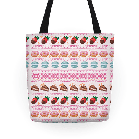 Ugly Dessert Sweater Pattern Tote