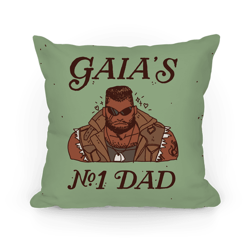 Gaia's Number 1 Dad Pillow