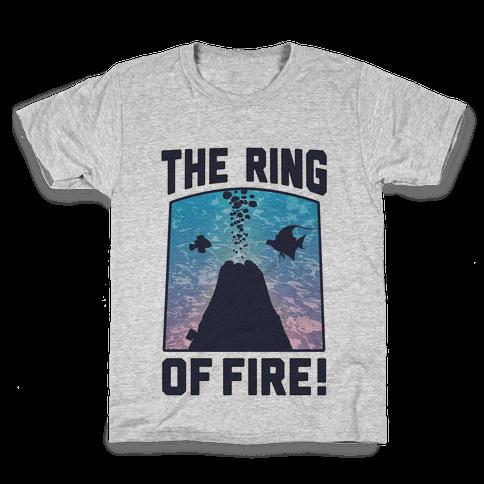 The Ring of Fire (V-Neck) Kids T-Shirt