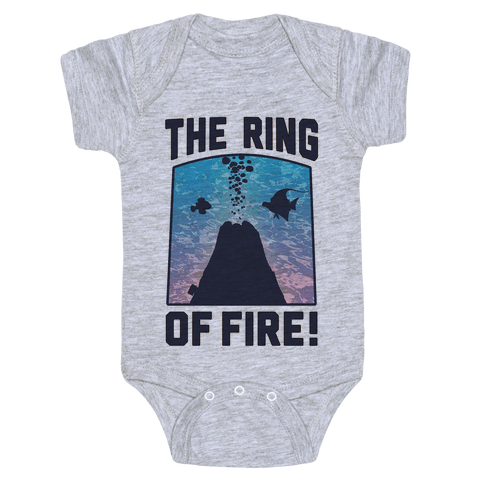 The Ring of Fire (V-Neck) Baby Onesy