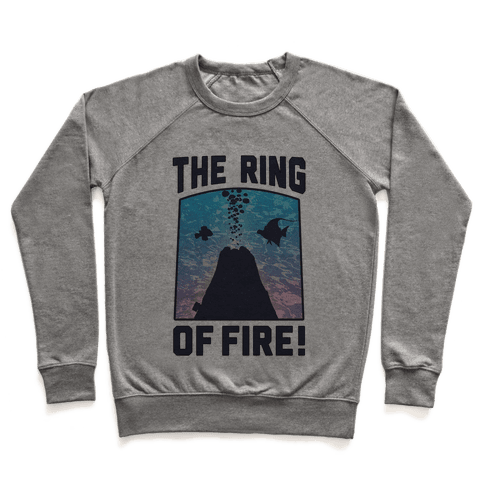 The Ring of Fire (V-Neck) Pullover