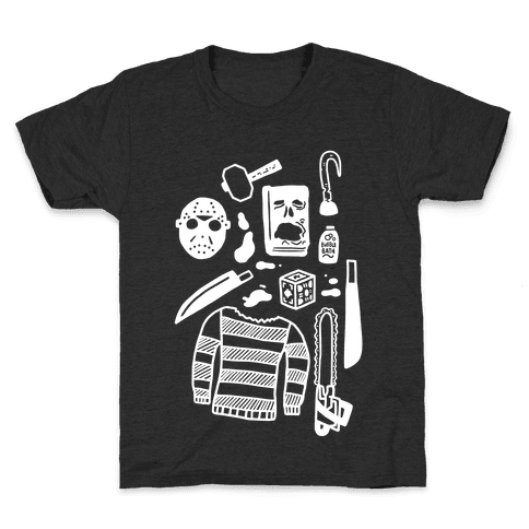 Slasher Slumber Party Kit Kids T-Shirt