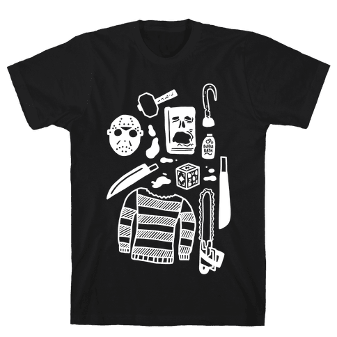 Slasher Slumber Party Kit Mens T-Shirt