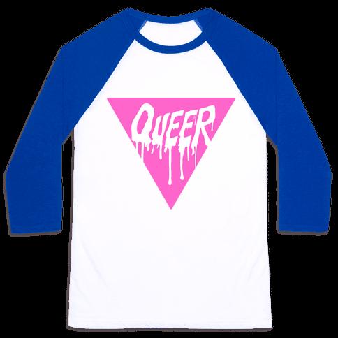Queer Pride Baseball Tee