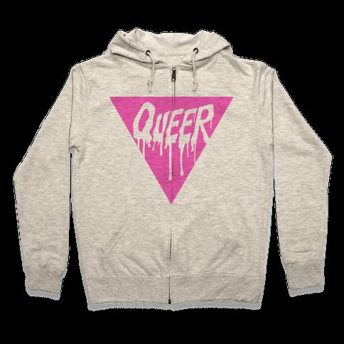 Queer Pride Zip Hoodie