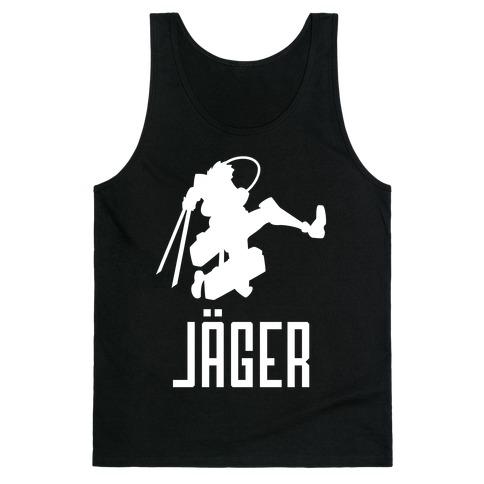 Eren Jaeger Silhouette Tank Top