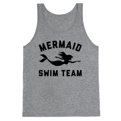 Mermaid Swim Team Tank Top