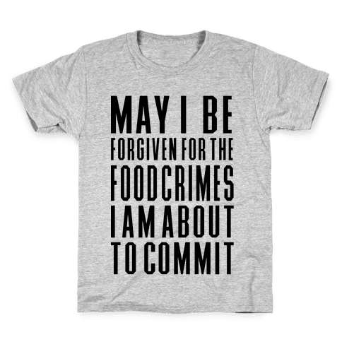 Food Crime Kids T-Shirt