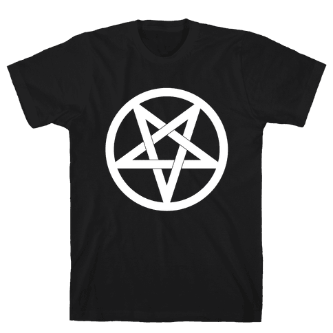 Pentagram Mens T-Shirt