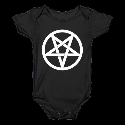 Pentagram Baby Onesy
