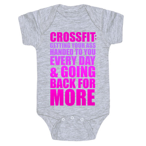 The Meaning of Crossfit Baby Onesy