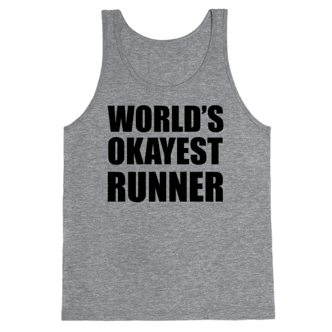 World's Okayest Runner Tank Top