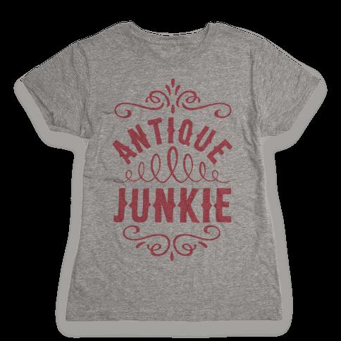 Antique Junkie Womens T-Shirt