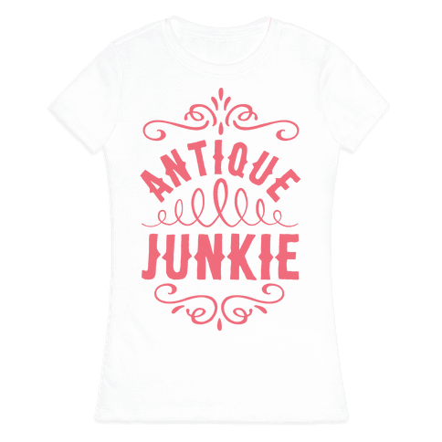Antique Junkie Womens T-Shirt