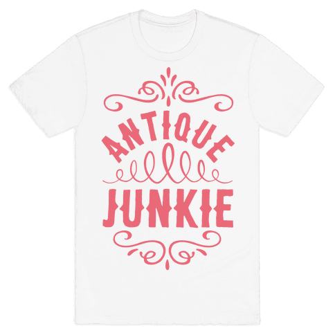 Antique Junkie Mens T-Shirt
