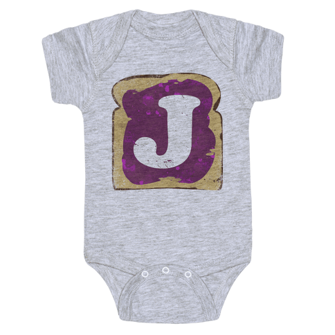 PBJ Hoodie (Jelly) Baby Onesy
