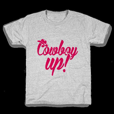 Cowboy Up! Kids T-Shirt