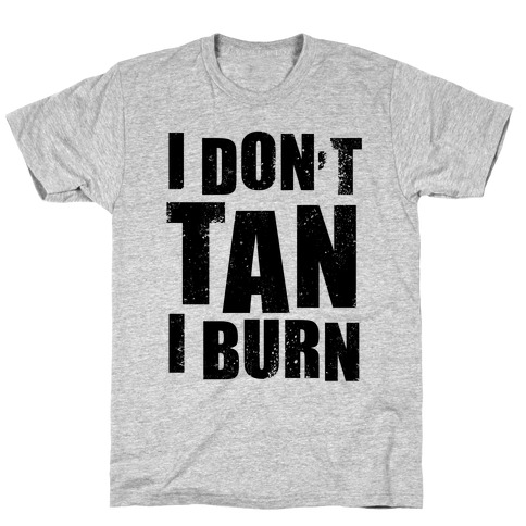 I Don't Tan (Neon Tank) T-Shirt