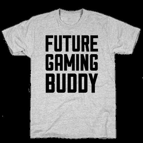 Future Gaming Buddy Mens T-Shirt
