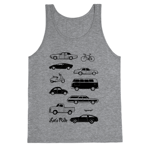 Let's Ride Tank Top