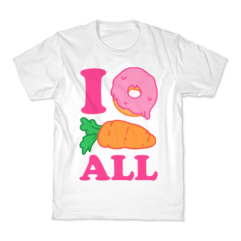 I Donut Carrot All Kids T-Shirt