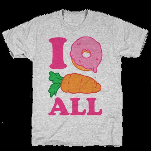 I Donut Carrot All Mens T-Shirt