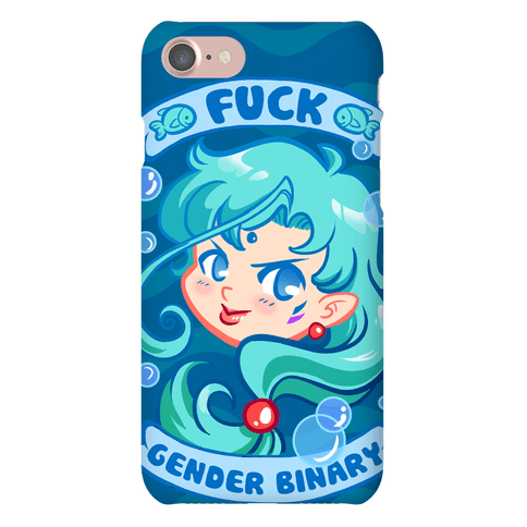 F*** Gender Binary Parody Phone Case
