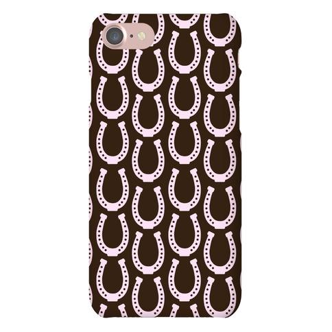 Horseshoe Pattern Phone Case