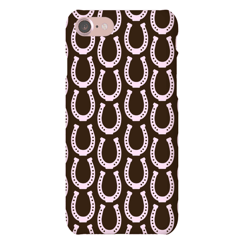 Horseshoe Pattern Phone Case