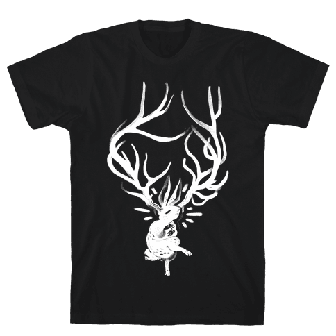 A Jackalope's Lullaby Mens T-Shirt